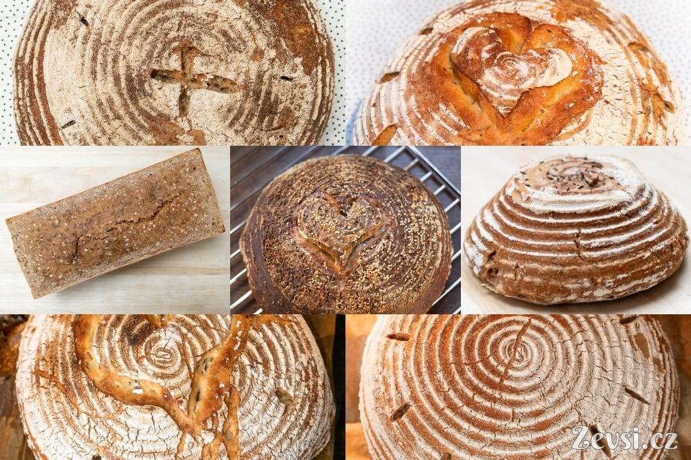 Mnoho podob chleba.