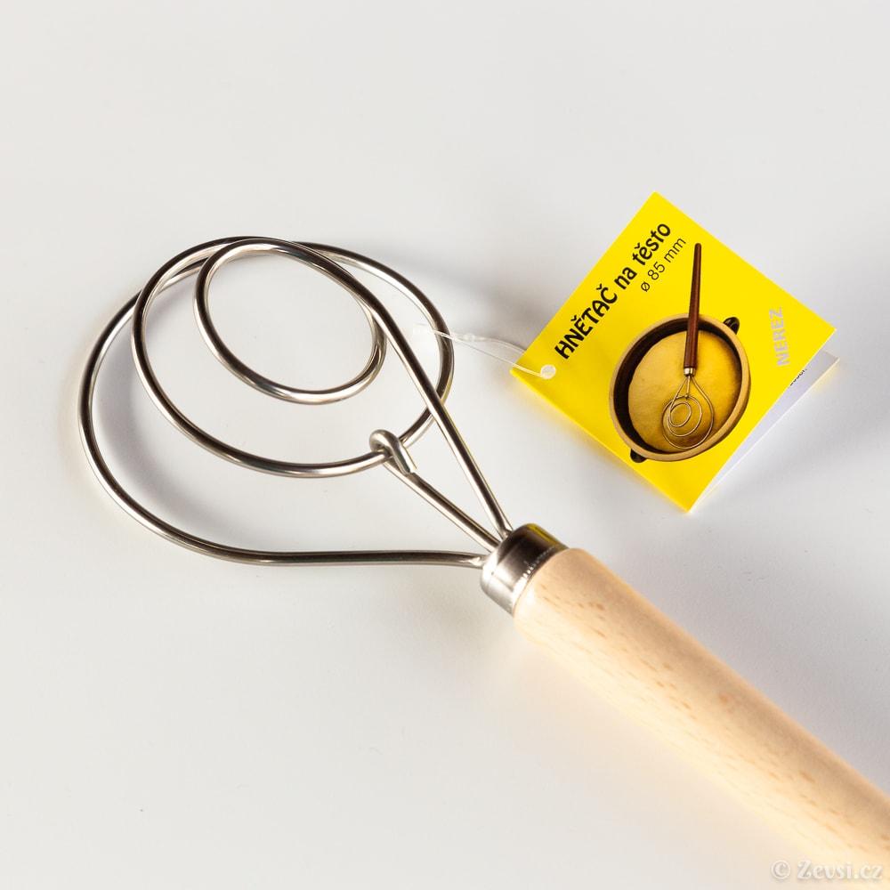 Dánská hnětací metla na těsto, Ø 85 mm.