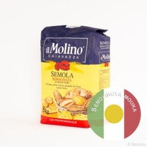 Italská semolinová mouka, semola rimacinata, di grano duro, 5 kg.