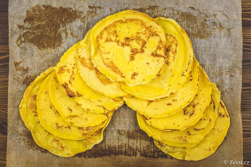 Tortillas – kukuřičné tortilly.
