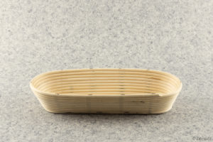 Pekařská ošatka na pečení chleba oválná na 1,5 kg bochník.