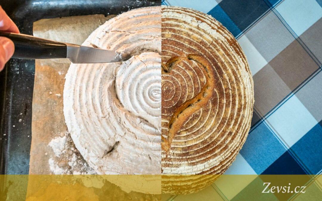 Základní recept nakváskový žitno-pšeničný chléb Šumava