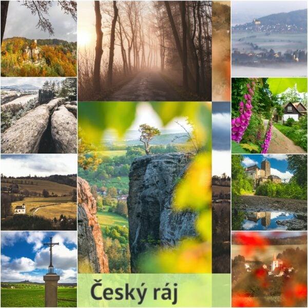 Autorský foto kalendář Český ráj 2021, A3, na výšku.