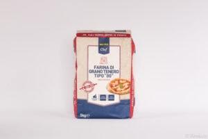 Italská pšeničná hladká mouka typ 00, zesílená, na přípravu těsta s delší fermentací W290–320.