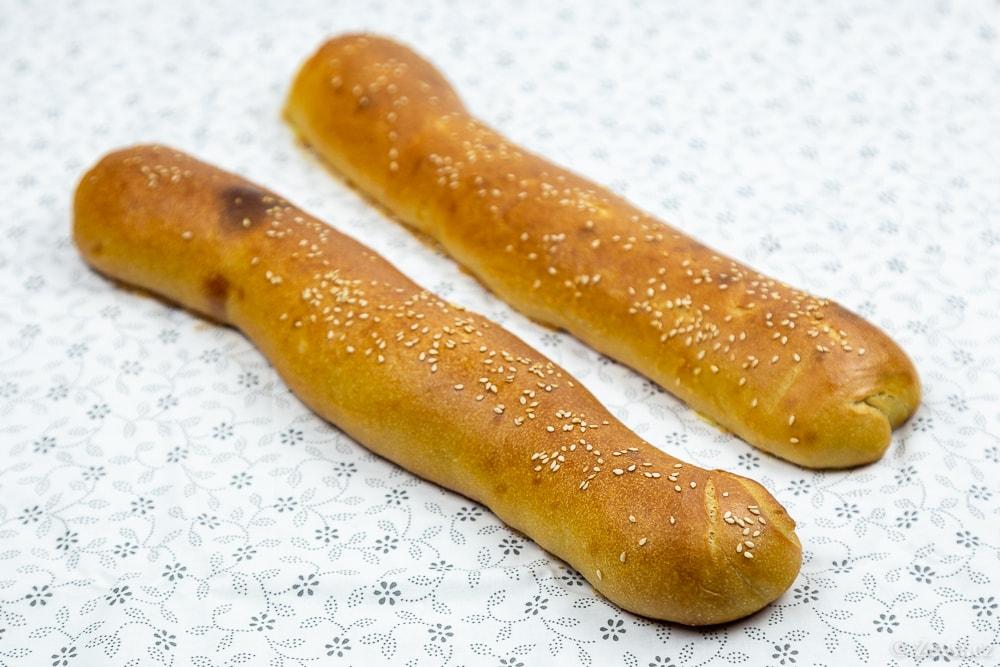 Upečené chlebíčkové veky.