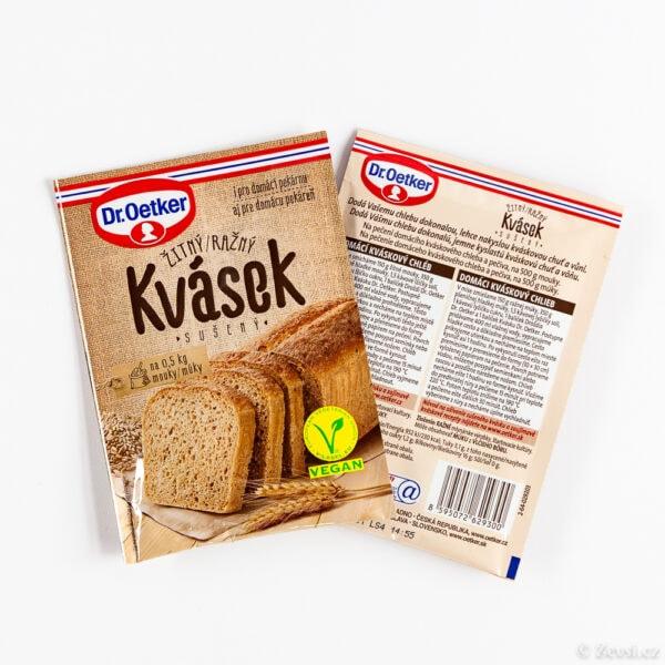 Sušený žitný kvásek 15 g.