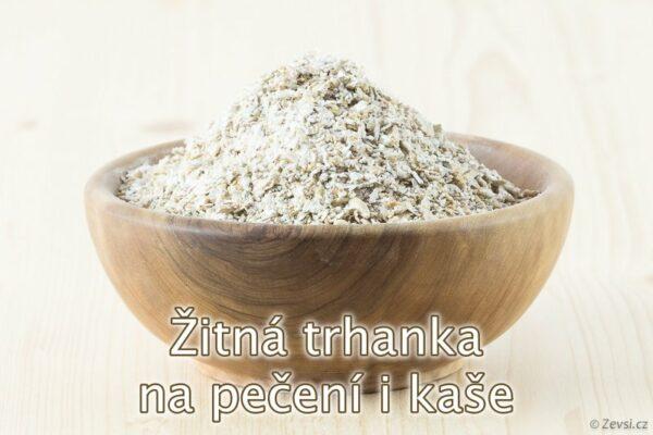 Žitná trhanka z českého mlýna k pečení chleba, pečiva i přípravu kaší.