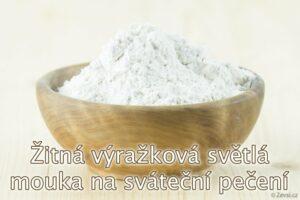 Žitná výražková mouka z českého mlýna na pečení buchet, perníku, chleba i rohlíků.