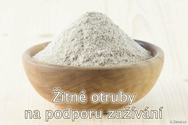 Žitné otruby z českého mlýna jako zdroj cereálií i na podporu zažívání.