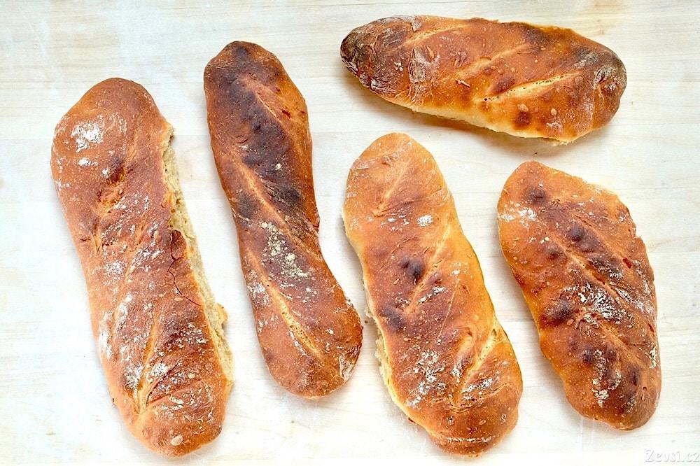 Jak jsem pekl bagety Pain à Ľancienne podle věhlasného pekaře Philippe Gosselina